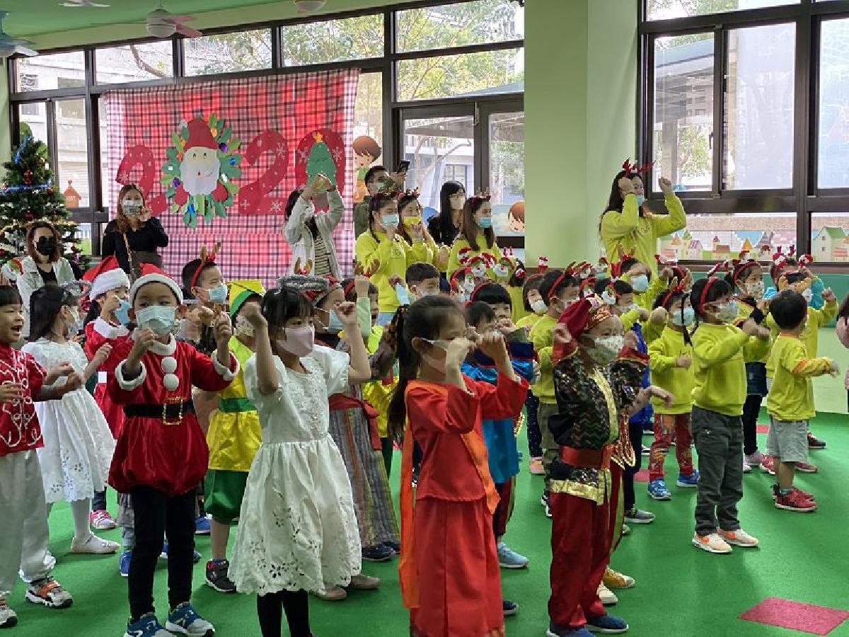 109年12月5日薔薇班聖誕節親子活動