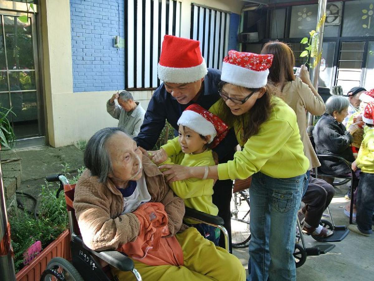 教導孩子懂得關懷及感恩2